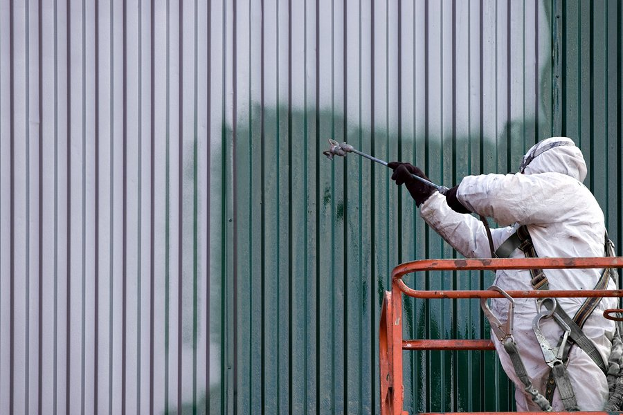 Industrial painting servicing